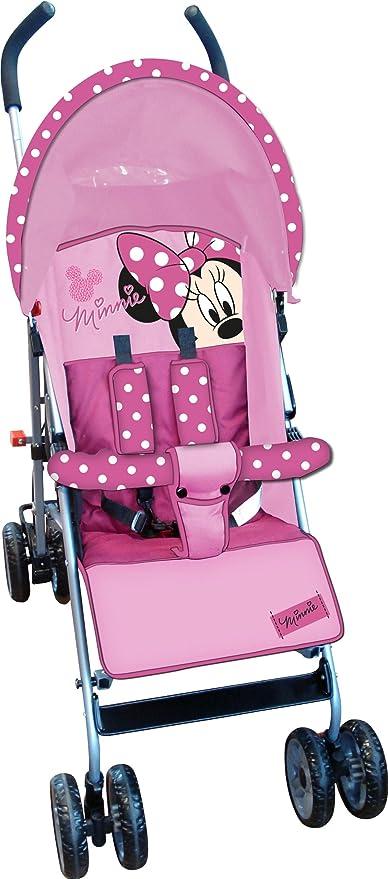 Disney Minnie Mouse carrito de paseo fácil cierre con capucha (rosa ...