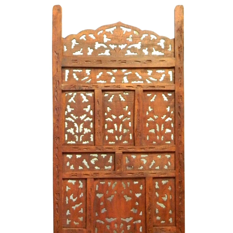 Paravent Jaipur 200 X 183 Cm Mangobaumholz Indische Trennwand Raumteiler  Möbel Wohnzimmer: Amazon.de: Küche U0026 Haushalt