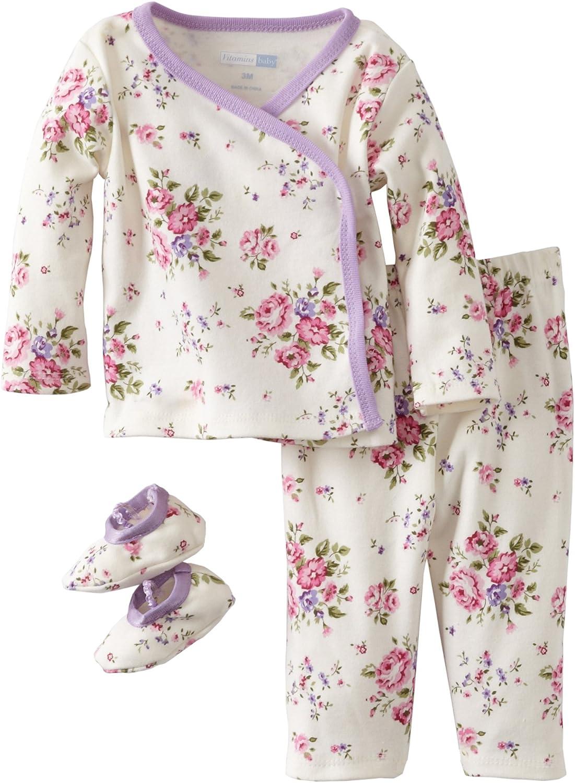 Vitamins Baby Baby-Girls Newborn Fresh Floral Printed Ruffle Sunsuit