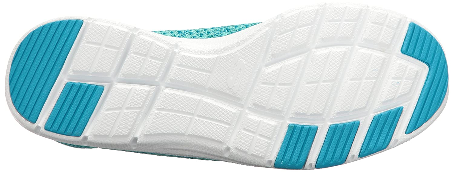 Skechers Sneaker Sport Women's Galaxies Fashion Sneaker Skechers B01J813NNC 7.5 B(M) US|Blue/Green d5823f