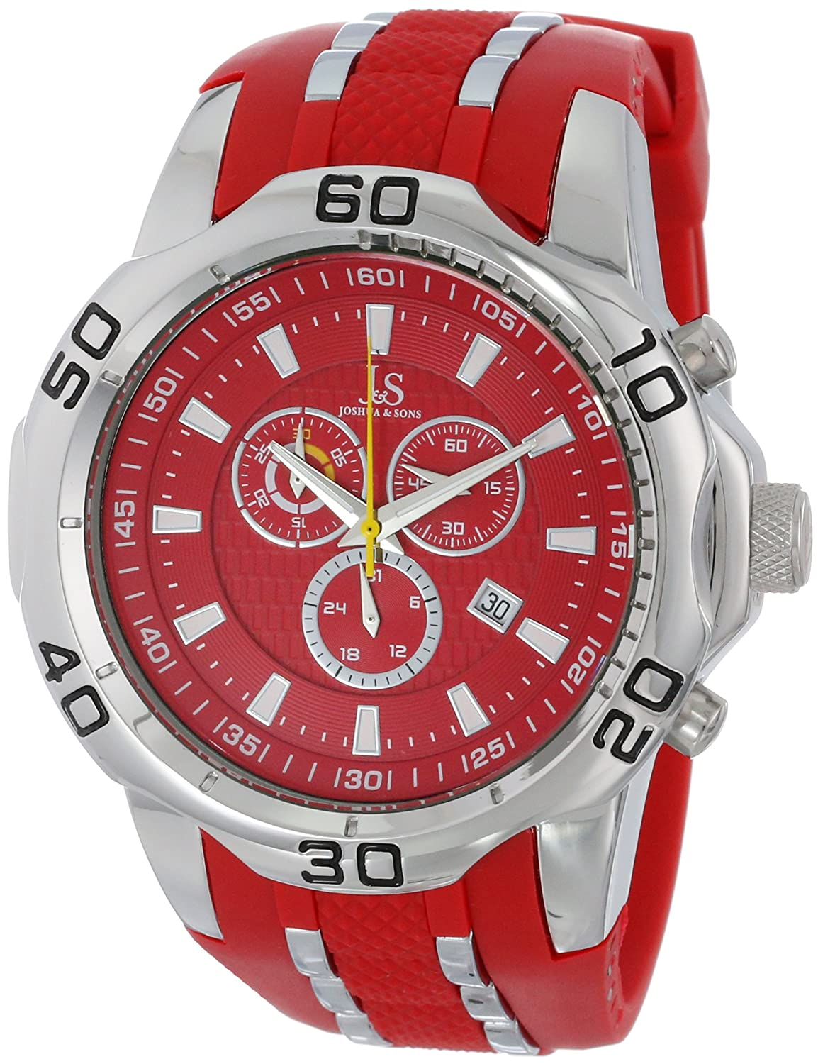dial watches chronograph watch s exchange mens men armani red