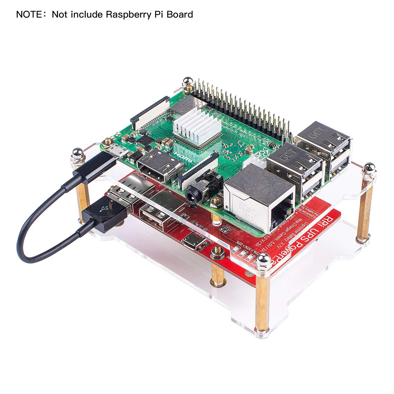 Amazon.com: Smraza Raspberry Pi 3 B+ - Batería para ...