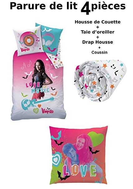 100% high quality best loved new collection Chica Vampiro - 4 Piece Bedding Set - Duvet Cover (140 x 200 ...