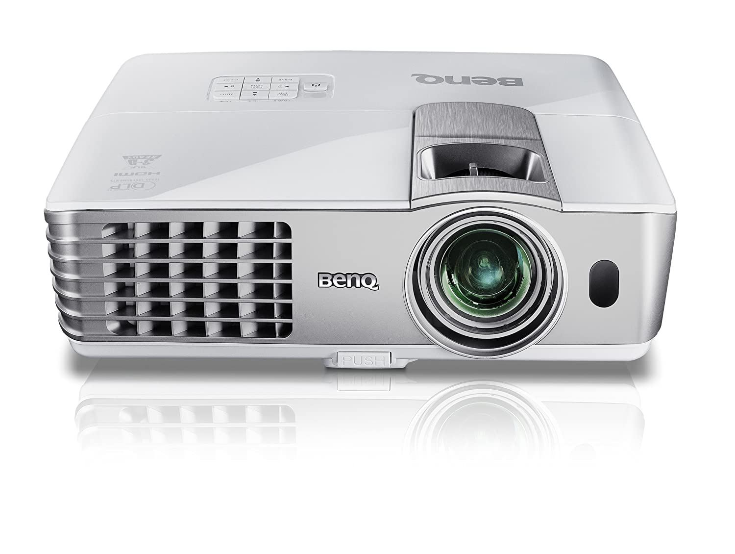 BenQ MS616ST - Proyector (800x600), color gris: Amazon.es: Electrónica