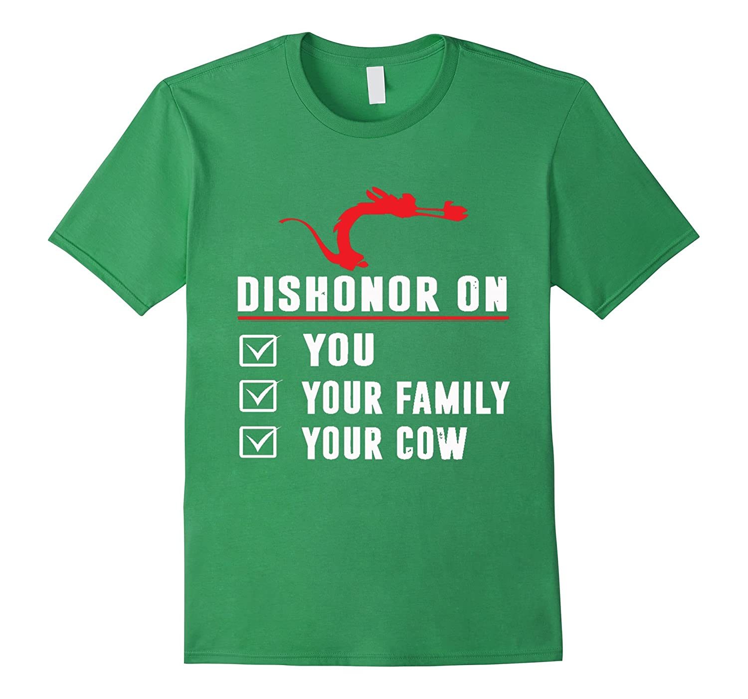 Dishonor On You Your Family Your Cow-Teevkd