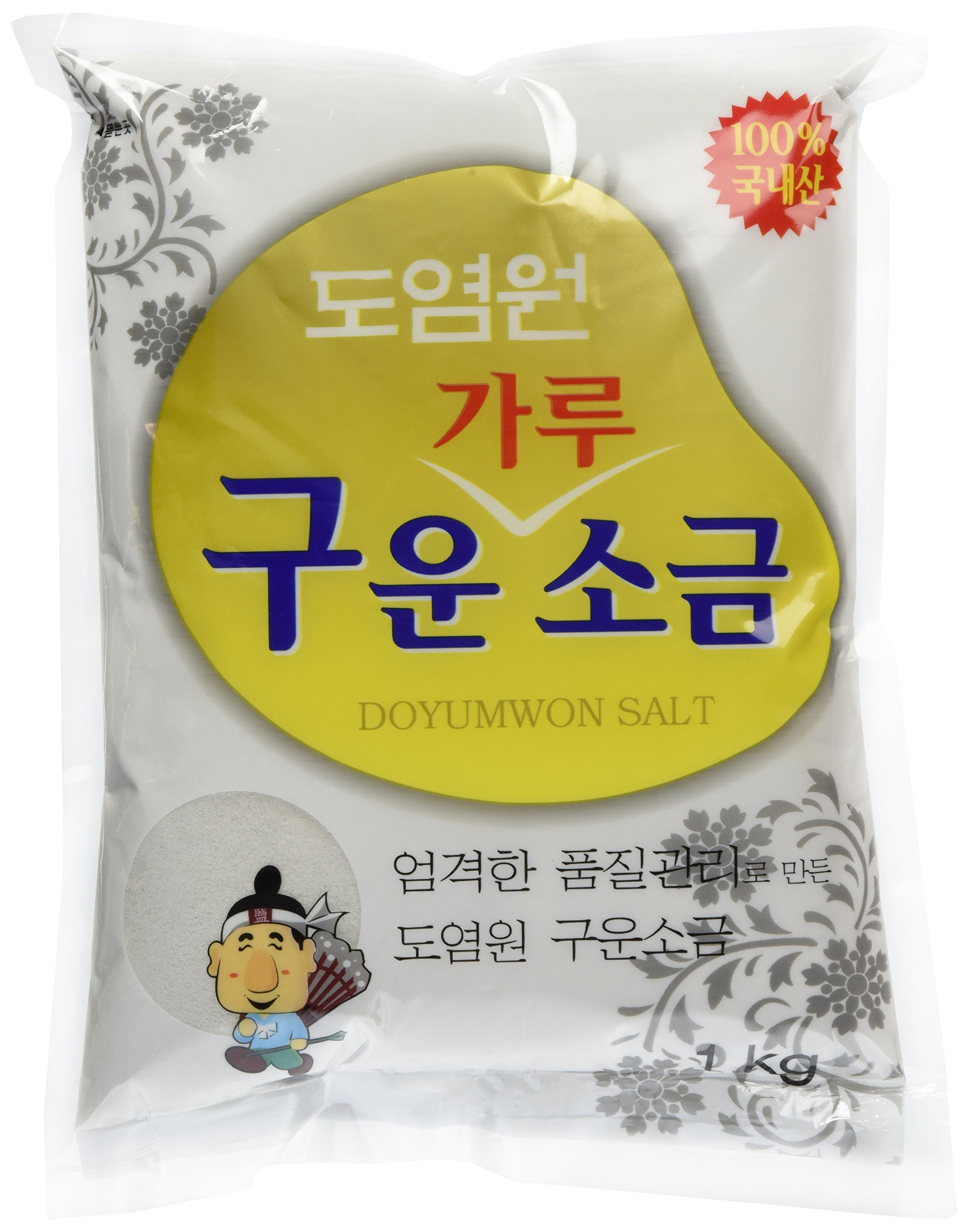 Badae Roasted Salt, 2.20 Pound (Pack of 20)