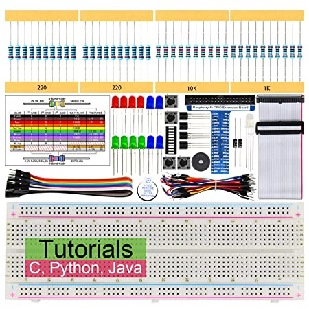 Amazon com: Freenove Basic Starter Kit for Raspberry Pi 4 B