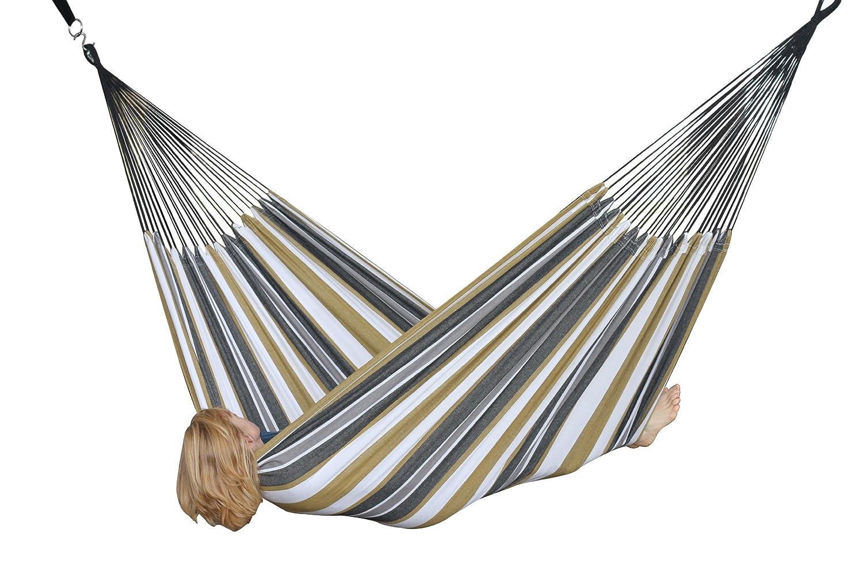 amazon     vivere brazilian style double hammock desert moon   garden  u0026 outdoor amazon     vivere brazilian style double hammock desert moon      rh   amazon