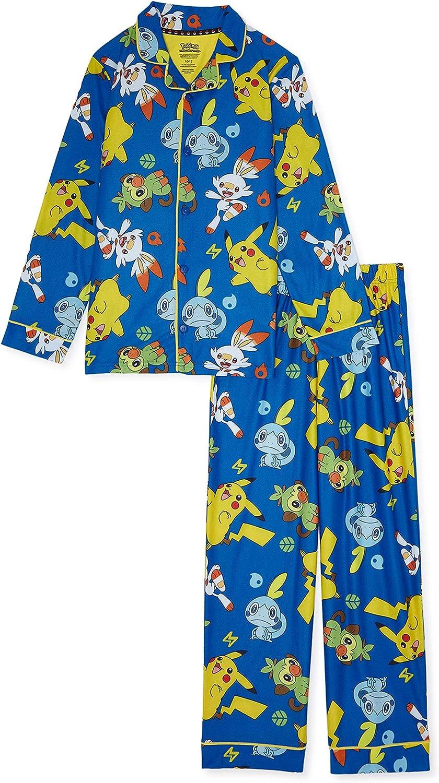 Details about  /Pokemon Pikachu And Friends 2-pc Summer Cotton Pajama Set 8 NWT U Choose Color