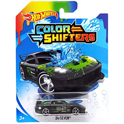 Hot Wheels Color Shifters 24 Seven 50th Anniversary Edition: Toys & Games