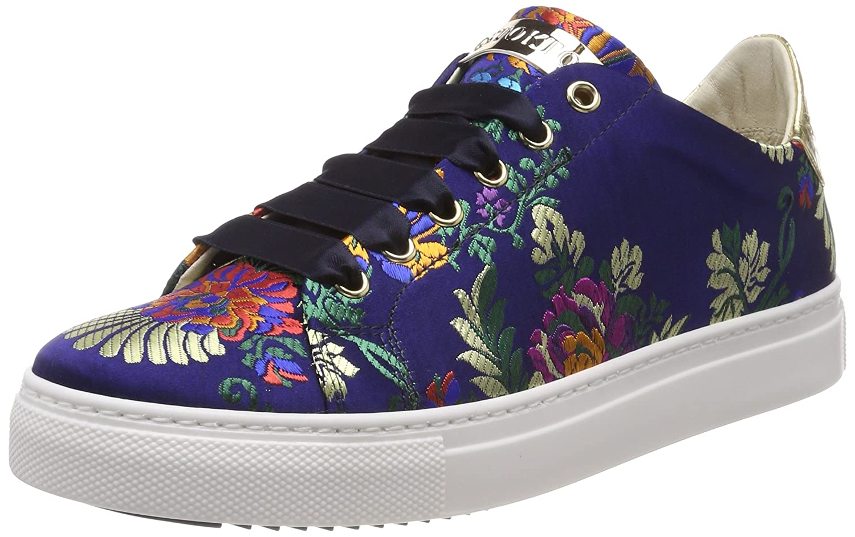 Stokton Sneaker, Sneakers Sneakers B073XJ393N Basses Femme Multicolore (Blu/Gold Multicolore/ Red) d6b1508 - deadsea.space