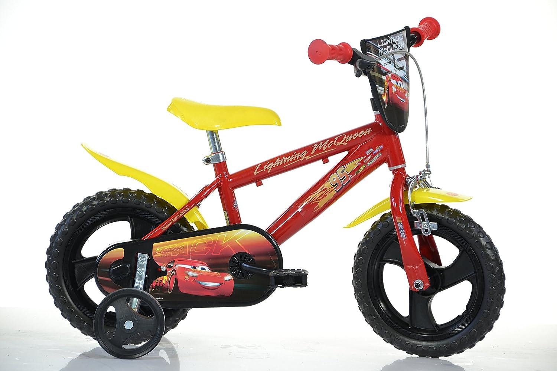 12 Zoll Cars Lightning Kinderfahrrad Kinderrad Spielrad Fahrrad Rad Bike Dino-Bike Dino Bikes