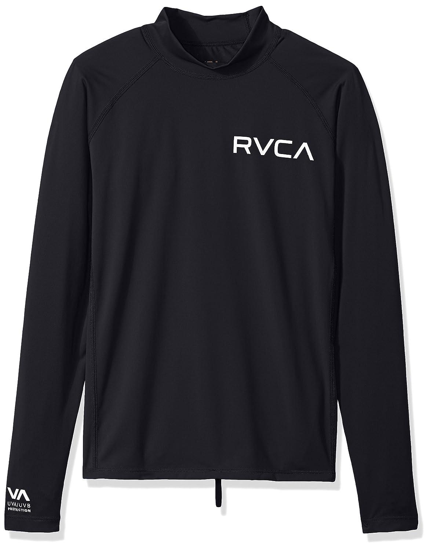 RVCA Big Boys' Solid Long Sleeve Rashguard