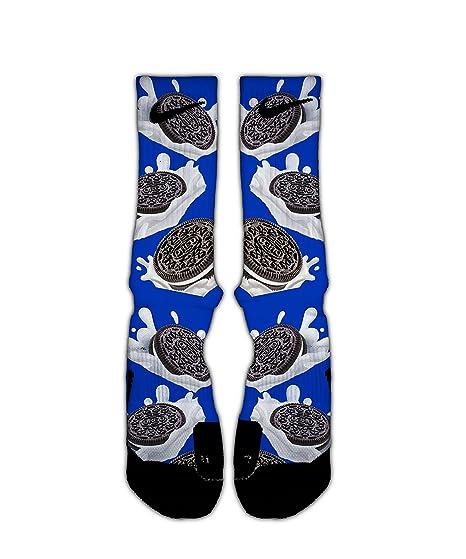 Oreos Custom Elite Socks At Amazon Mens Clothing Store