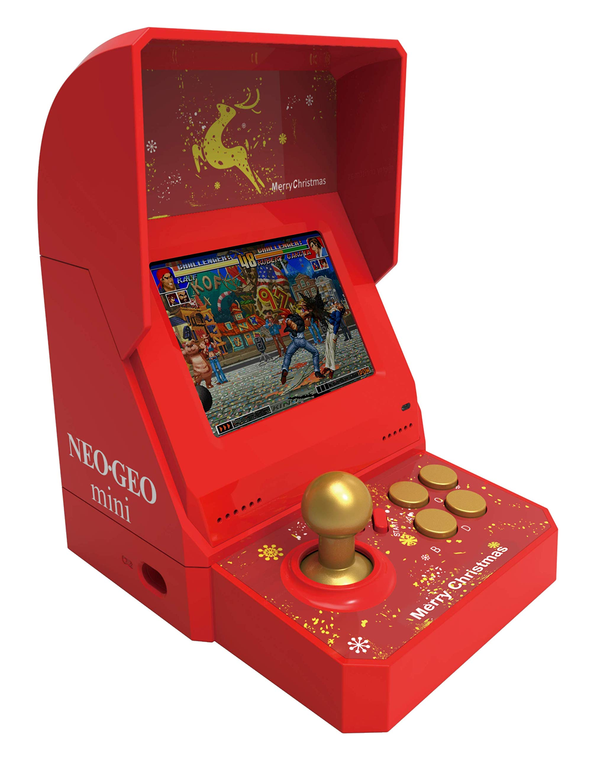 NEOGEO mini Christmas Limited Edition *(IN STOCK NOW! Ships USPS Priority Mail)* by SNK (Image #6)