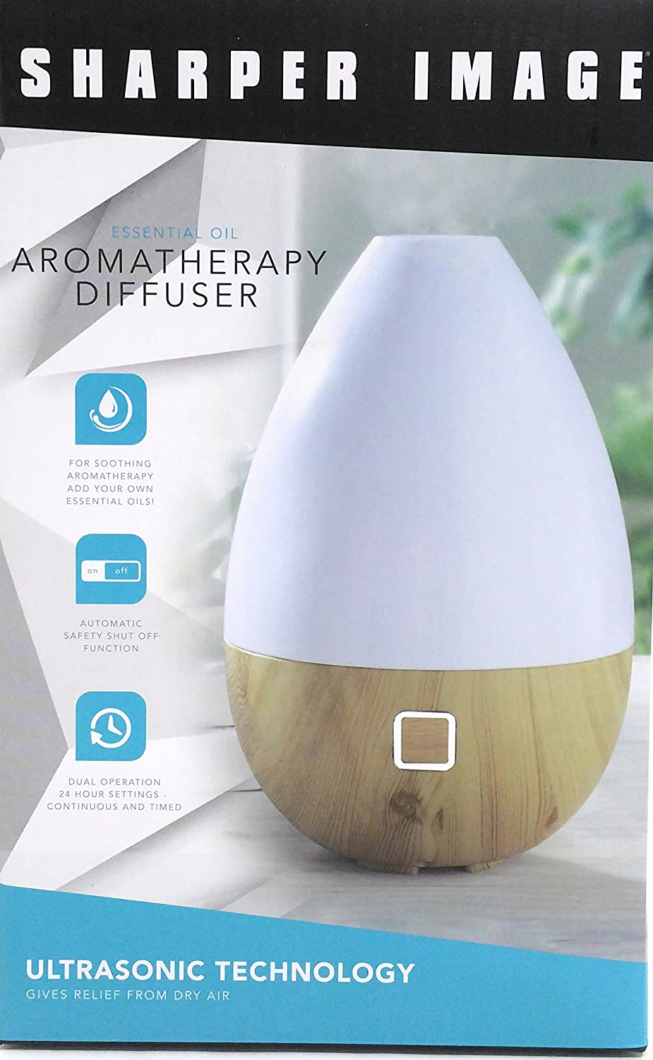 Amazoncom Sharper Image Essential Oil Aromatherapy Diffuser Beauty