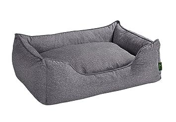 HUNTER Cama sofá para perro, tamaño M, dimensiones exteriores 85 x 65 x 24
