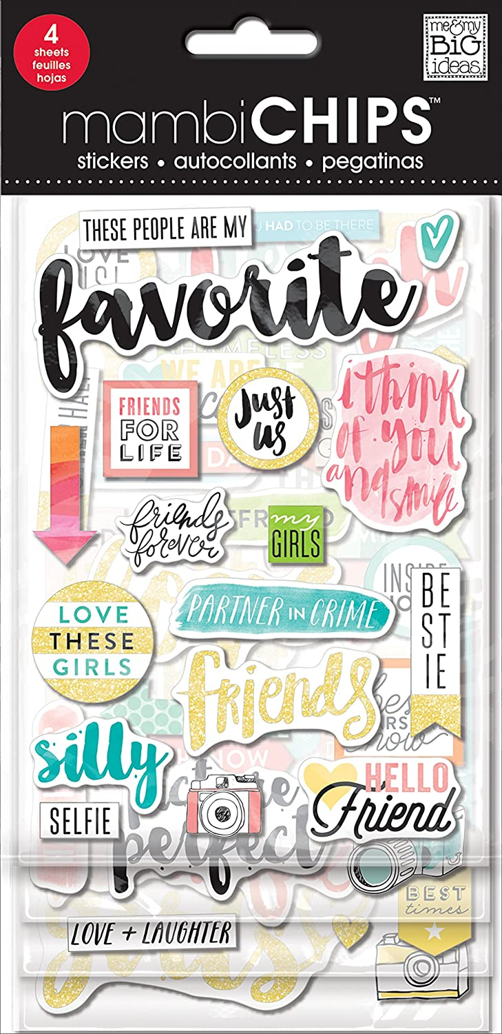 Me and My Big Ideas Chipboard Value Pack-Favorite, Other, Multicoloured Me & My Big Ideas CBVX-54