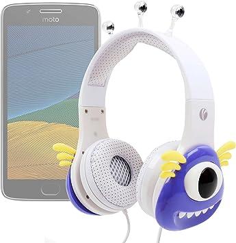 DURAGADGET Auricular Audio Pequeño monstruo para Motorola Moto G5 ...