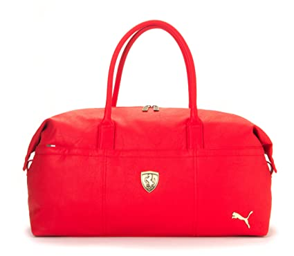 6bea76972c86 Puma Ferrari LS Duffle Bag Travel Bag (Red)  Amazon.co.uk  Clothing