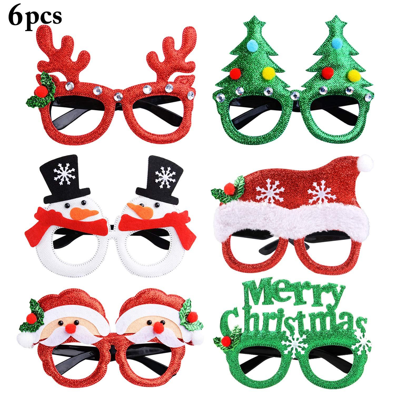 Occhiali per feste natalizie