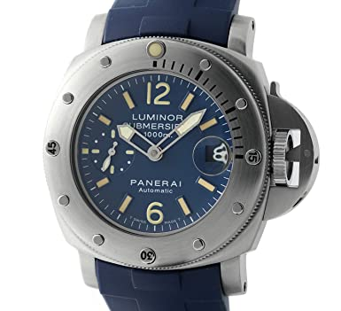 luminor watch gents asp submersible p panerai automatic watches