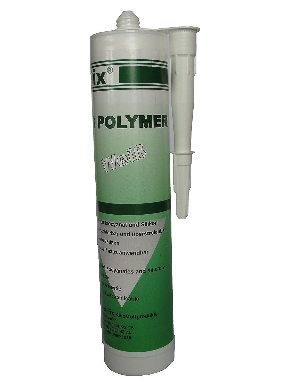 BER-Fix bajo el agua encolado y densa MS polí mero, de colour blanco, 290 ml