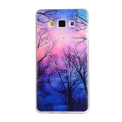 Para Samsung Galaxy A3 (2015) / A3 (2015) Duos (4,5 pulgadas) Cáscara ZeWoo® Carcasa y Funda de Silicona - YG008 / bosques