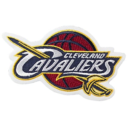 Official Cleveland Cavaliers Logo Large Sticker Iron On NBA Basketball Patch Emblem