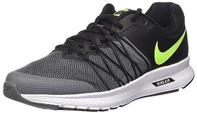 sale retailer bfd2f eeea5 Nike Air Relentless 6, Chaussures de Running Entrainement Homme, Noir  (Black Vert