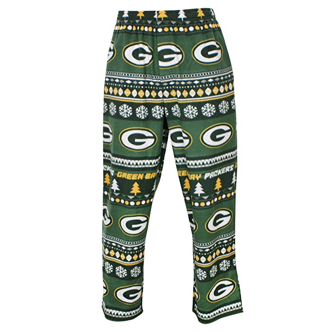 227a3cbe Concepts Sport Men's Green Bay Packers Guys Winter Fleece Lounge Pants  (Large)