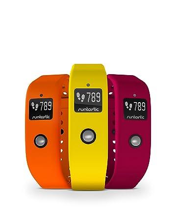 Runtastic Unisex Orbit Armband, 3er Pack, Gelb/Orange/Pink
