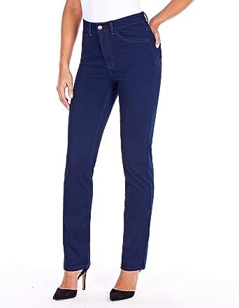b3d7b499912 FDJ French Dressing Women s Suzanne Straight Fit Straight Leg Jeans - Petite