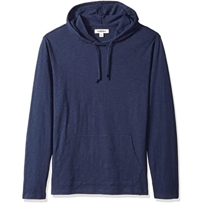 Brand - Goodthreads Men's Lightweight Slub T-Shirt Hoodie: Clothing
