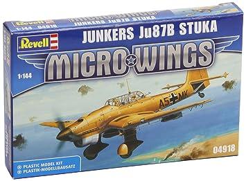 Revell 04918 Junkers JU 87B Stuka - Maqueta de avión: Amazon ...