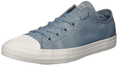 3e9b2536f18c Converse Girls  Chuck Taylor All Star Sneaker Navy Milk 1 M US Little Kid