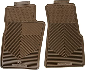 Amazon Com Highland 4402800 All Weather Tan Front Seat Floor Mat Automotive