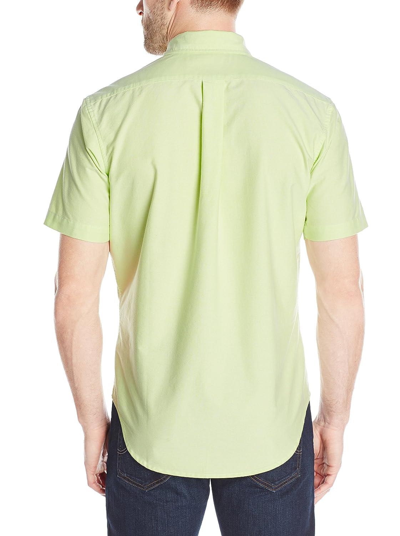 1469a7a84 U.S. Polo Assn. Men s Short Sleeve Button Down Oxford Shirt