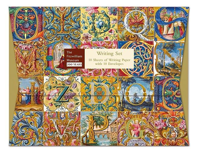 V/&A Maichaelmas Daisy Writing Set