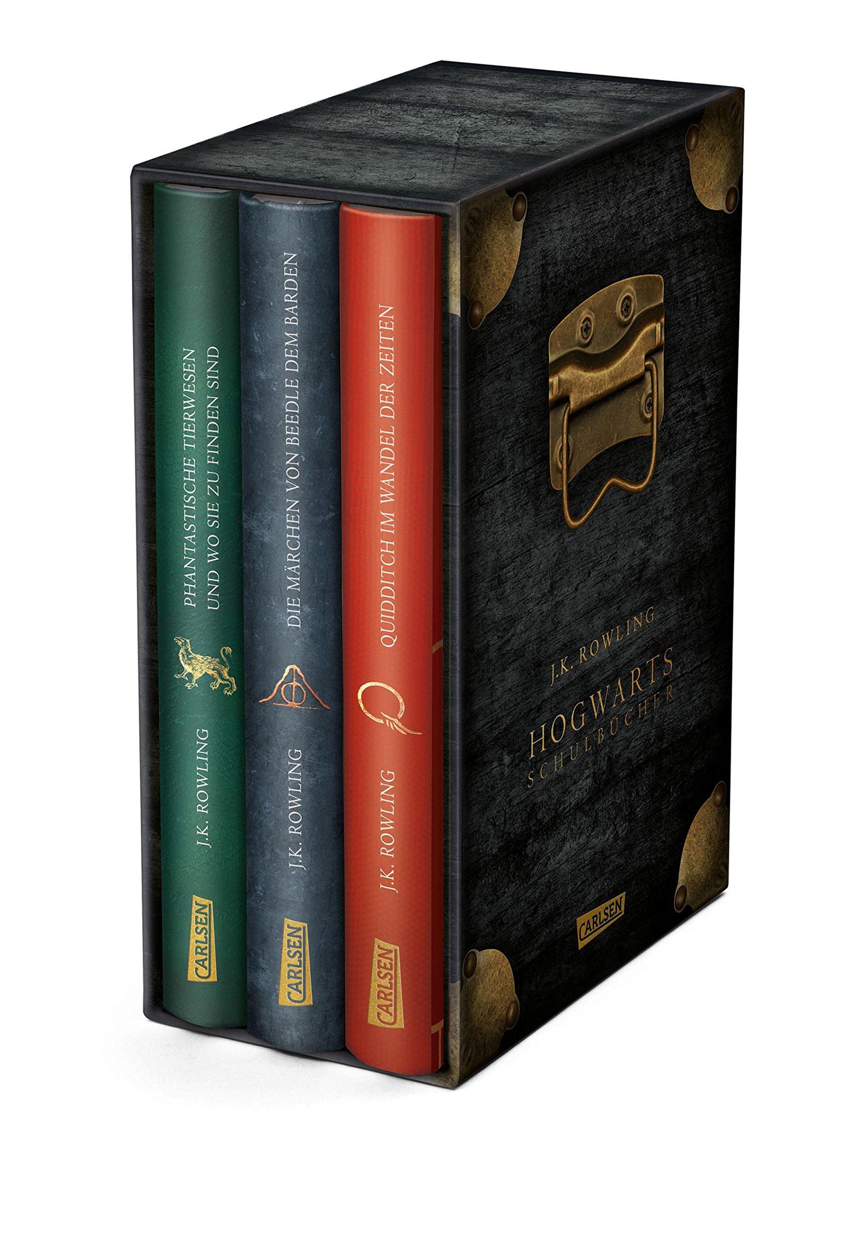 Hogwarts-Schulbücher: Die Hogwarts-Schulbücher im Schuber Gebundenes Buch – 28. September 2018 J.K. Rowling Klaus Fritz Carlsen 355155708X