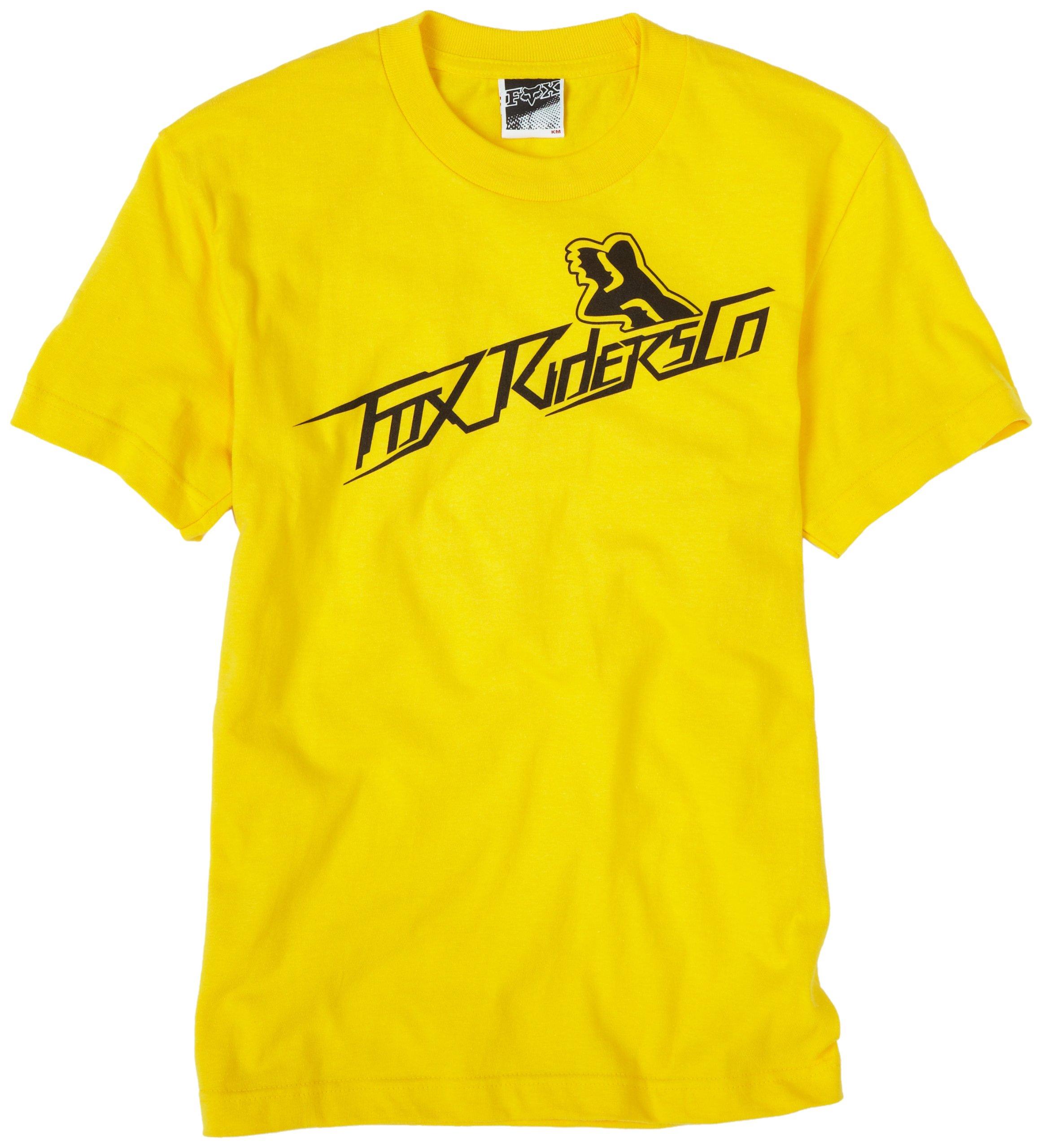 Fox Big Boys' Supersonic Tech Tee,Yellow,Large