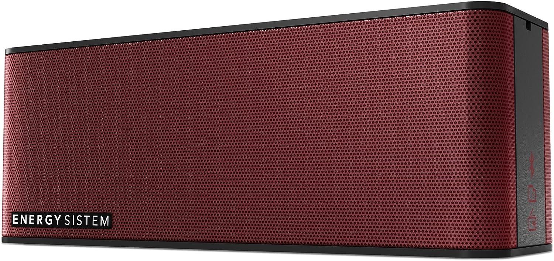 Energy Sistem Music Box 5+ (Bluetooth, 10W, Manos Libres, Entrada de Audio y batería Recargable)