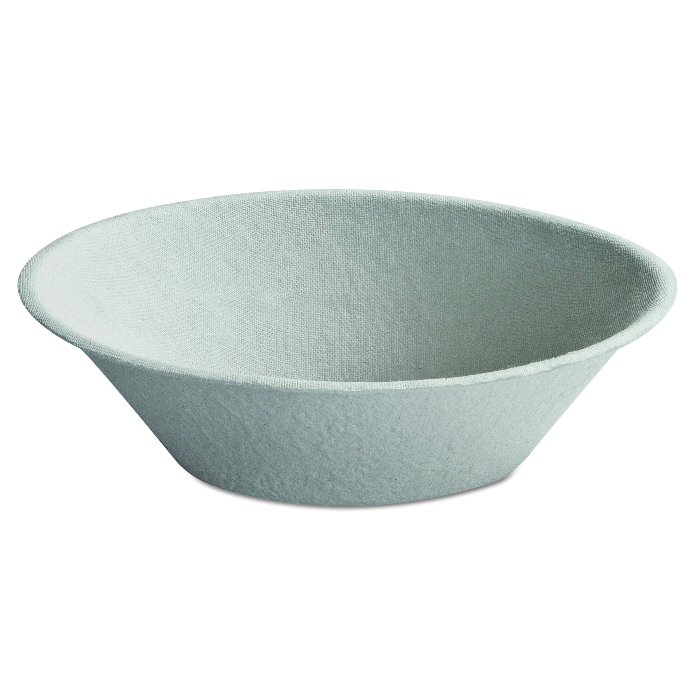 Serviceware 21060 9'' Round, 45 oz Molded Fiber Bowl (Case of 500)