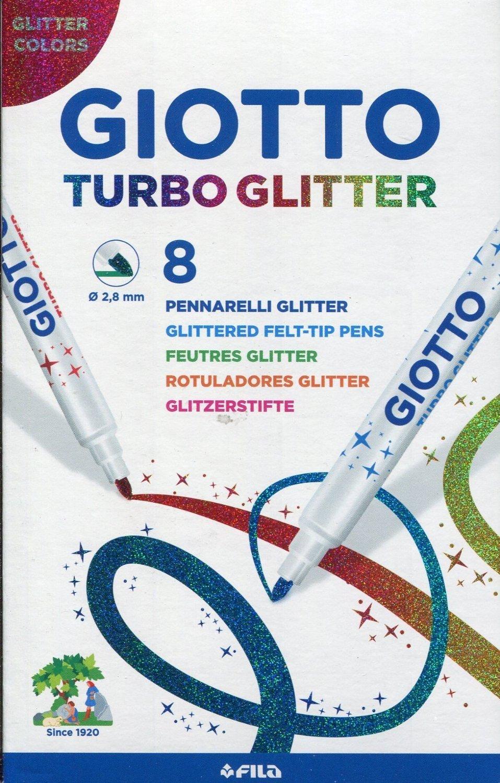 8 Fasermaler Giotto 4258 00 Turbo Glitter