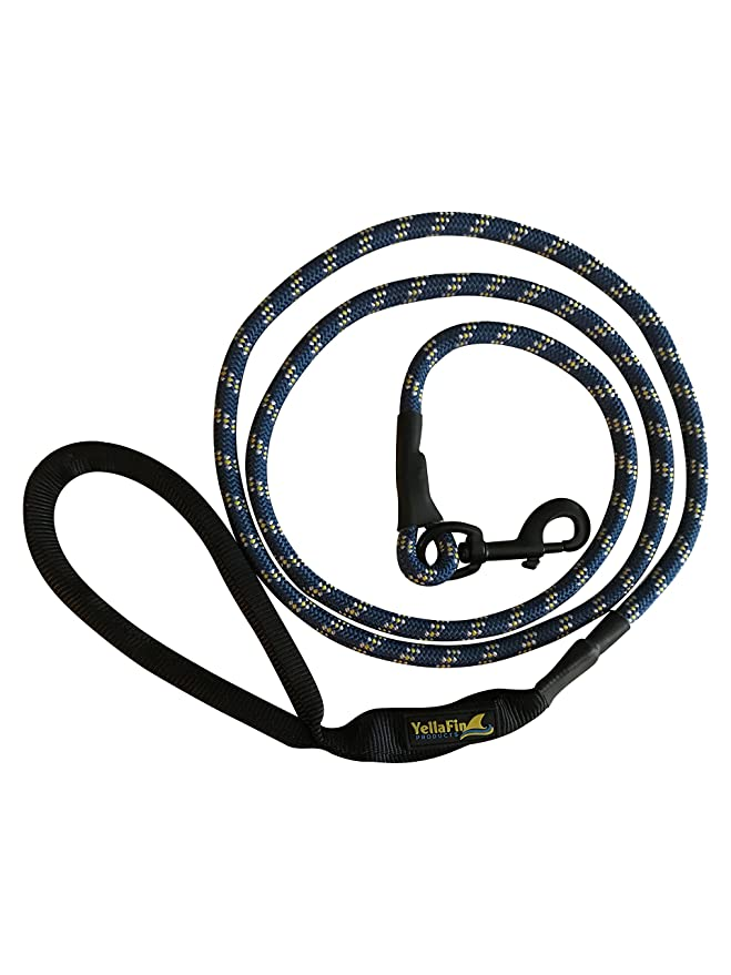Amazon Com Yellafins Heavy Duty 6 Foot Dog Leash Pet Supplies