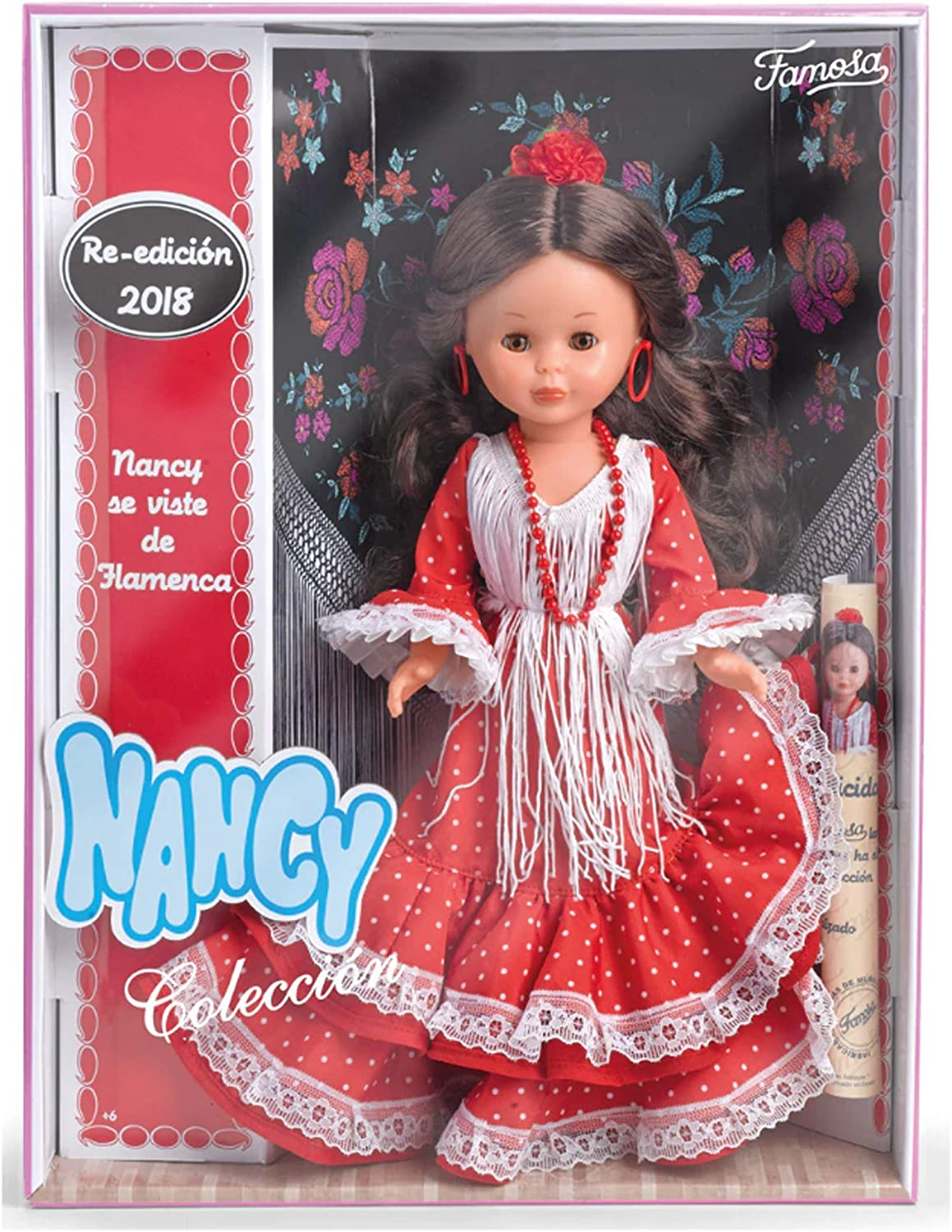 Famosa 4479132 - Muñeca Nancy Flamenca
