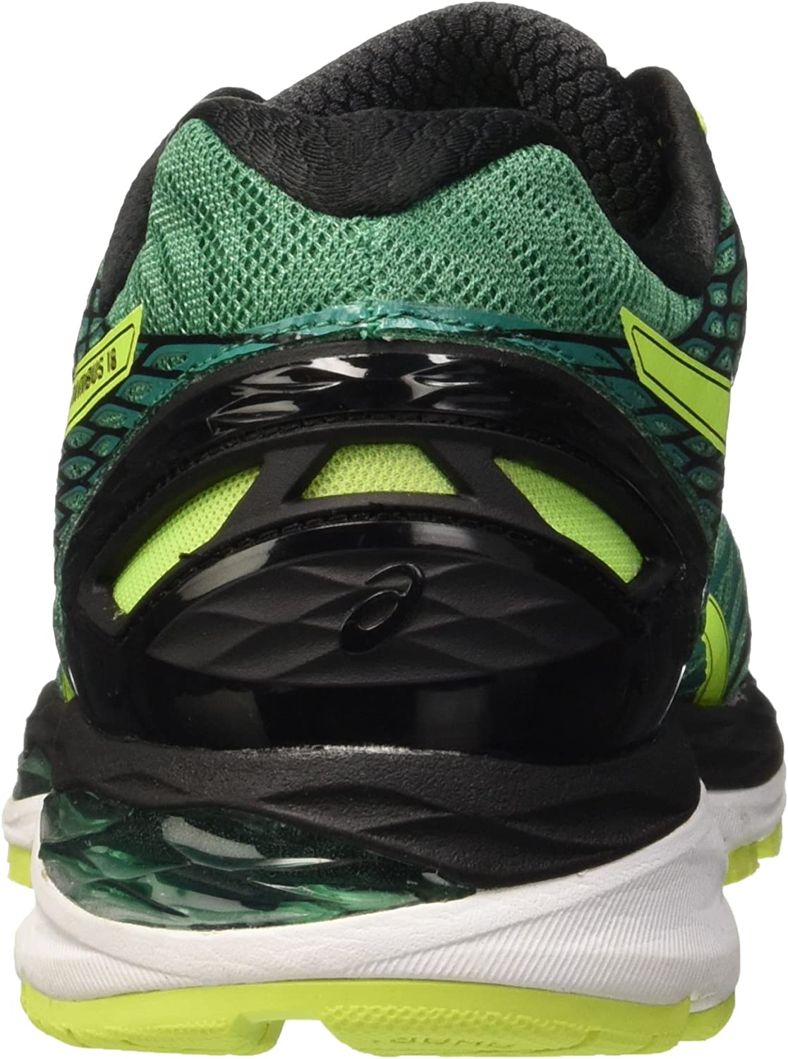 Asics Gel Nimbus 18 - Zapatillas de Running, Unisex, Verde (Pine/Flash Yellow/Black), 39: Amazon.es: Zapatos y complementos