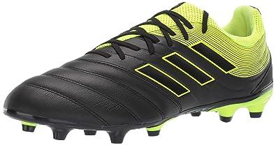 super popular 338b4 cc31f adidas Men s Copa 19.3 Firm Ground, Solar Yellow Black, ...