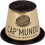 Cap Mundo ZEBRANO 50 Café Capsulas, compatible con Nespresso - 100% Arabica