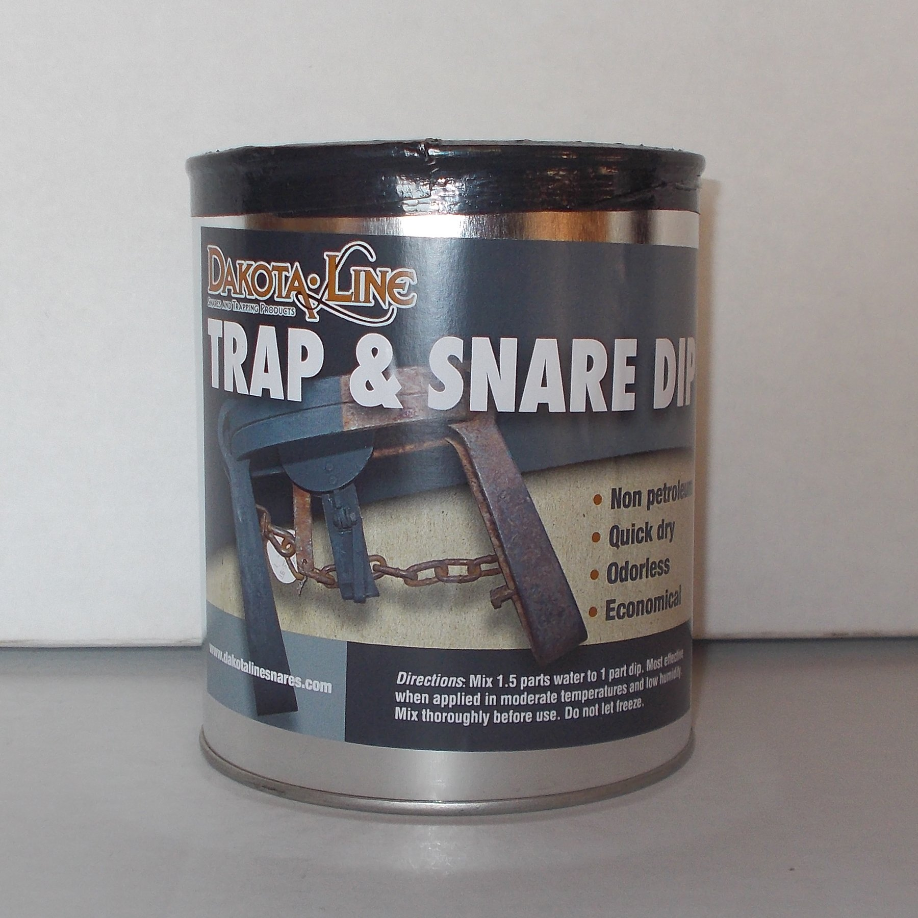 1 Quart Dakotaline DESERT TAN Trap & Snare Dip by DakotaLine